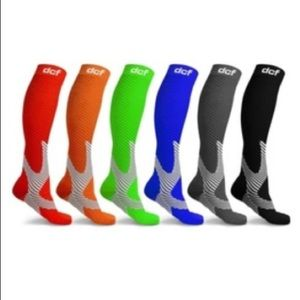 Unisex Assorted Compresson Socks (6 pairs)